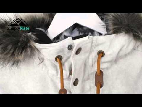 O'Neill Womens Maad Jacket Powder White - www.simplypiste.com