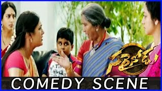 Sarainodu Comedy Scene Between MLA and Annapurna ||Allu Arjun | Rakul Preet Singh