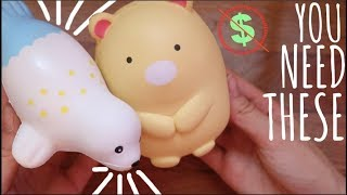 CHEAP SQUISHIES YOU NEED!!! Squishy Package | NEWCHIC