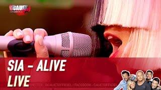 Sia   Alive   Live   C'Cauet Sur NRJ