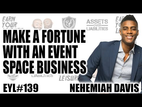 , title : 'MAKE A FORTUNE WITH AN EVENT SPACE BUSINESS