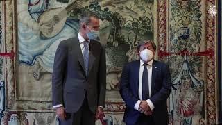 Audiencia a D. Vicenç Thomàs i Mulet, presidente del Parlamento de las Illes Balears