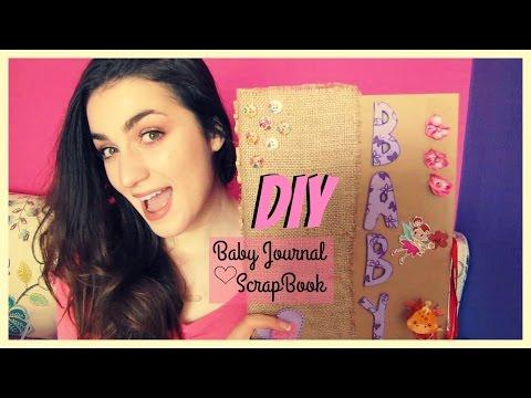 DIY Scrapbook: Baby Journal - Δώρο για μία νέα μαμά