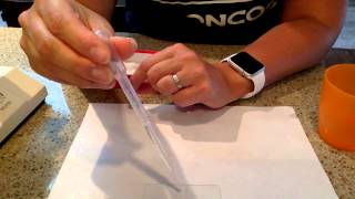 How to prepare a microscope slide