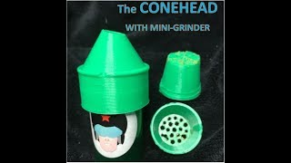CONEHEAD AND GRINDER DEMONSTRATION