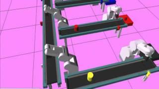 Video Thực tập Robot công nghiệp