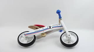 Montage ★ BIKESTAR® ★ Kinderlaufrad 7 Zoll Kombination 2 und 3 Rad ★ Natur Holz Edition