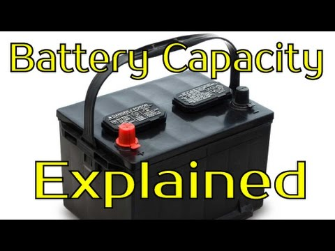 Amp Hours???  Battery Capacity Explained