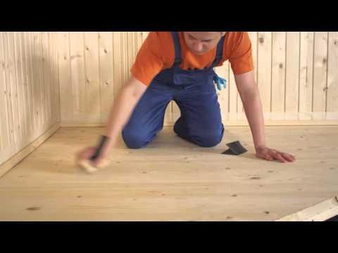 ТЕКС: Как лакировать деревянные полы