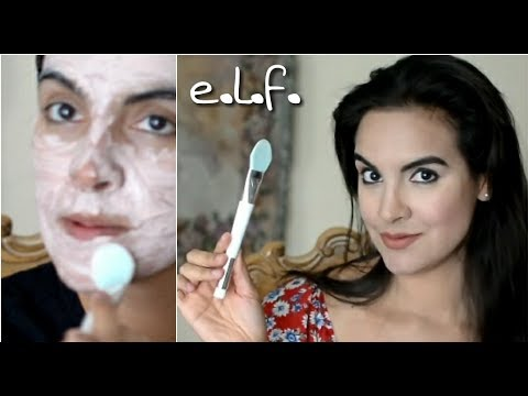 e.l.f. Pore Refining Brush and Mask Tool Review
