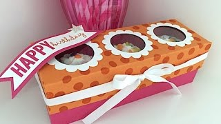 Simply Simple CUPCAKE TRIO BOX By Connie Stewart