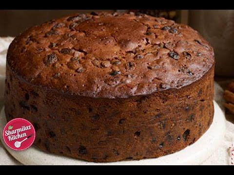 Rum Fruit & Nut Cake   Plum Cake l Traditional Christmas Cake Recipe    Sharmilazkitchen