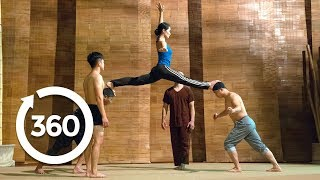 Defy Gravity In an Acrobatic Dance | Hanoi, Vietnam 360 VR Video | Discovery TRVLR