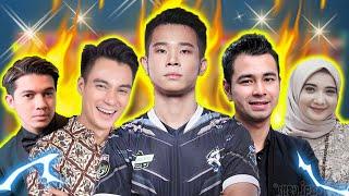 Main Bareng Artis (Baim, Raffi, Irwansyah, Zaskia) - Mobile Legends