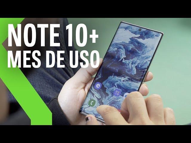 Samsung Galaxy Note 10+, análisis tras un mes de uso: GRANDE, VERSÁTIL y a UN PASO DEL SOBRESALIENTE