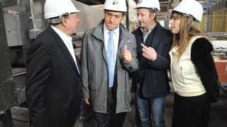 preview picture of video 'Recorrida por la empresa de Cerámicos ILVA en Pilar. Martín Insaurralde Diputado Nacional. Paso 2013'