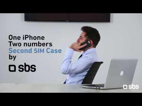 SBSSecond Sim Case per iPhone