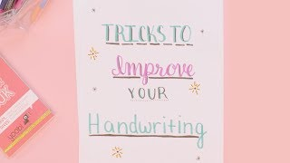 How to Improve Your Handwriting | Plan With Me