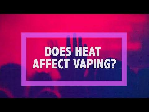 D&H Teen Blog: Does Heat Affect Vaping?