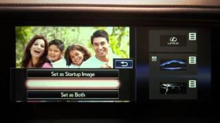 2015 GS/LS Vehicle Customization: Start Up Screen Images