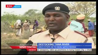 Kenya Red Cross starts destocking livestock in Tana River County
