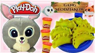 Play Doh • Gang Słodziaków • Pizza i pierogi • bajki dla dzieci