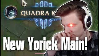 Hashinshins NEW MAIN? The Yorick CARRY in Masters!