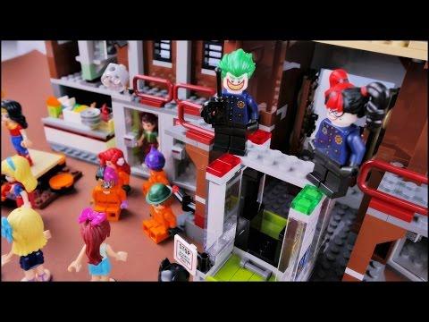 Remix Poszukiwania W Azyl Arkham Bajka Po Polsku Z Klockami Lego