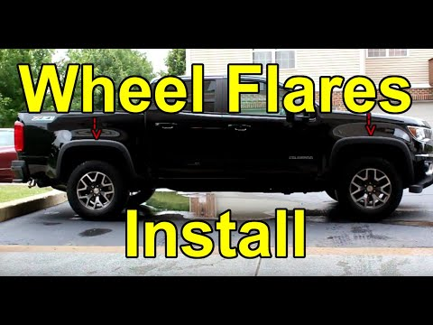 [HOW TO] Install Wheel Flares on a 2015-2019 Chevy Colorado (OEM)