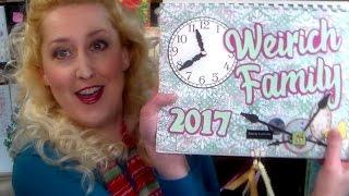 DIY Scrapbook Calendar // Perfect Grandparent Gift!