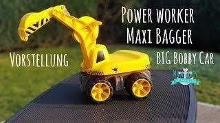 Power Worker Maxi Bagger | BIG Bobby Car | Autos für Kinder #3