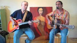 Eric Clapton's version of  Malted Milk (covered by Pino and David )
