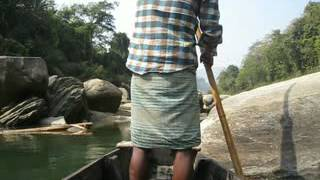 preview picture of video 'Journey on Shangu river, Bandarban'