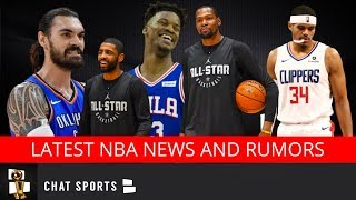 NBA Rumors: Kawhi Leonard Free Agency, Kevin Durant's Nets Interest & 76ers Losing Jimmy Butler?