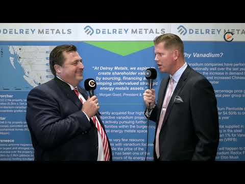Delrey Metals: Recently IPOed Vanadium Explorer In British Columbia