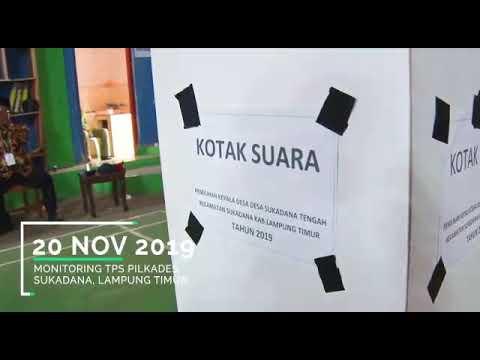 Pelaksanaan Monitoring Pilkades Serentak Kabupaten Lampung Timur
