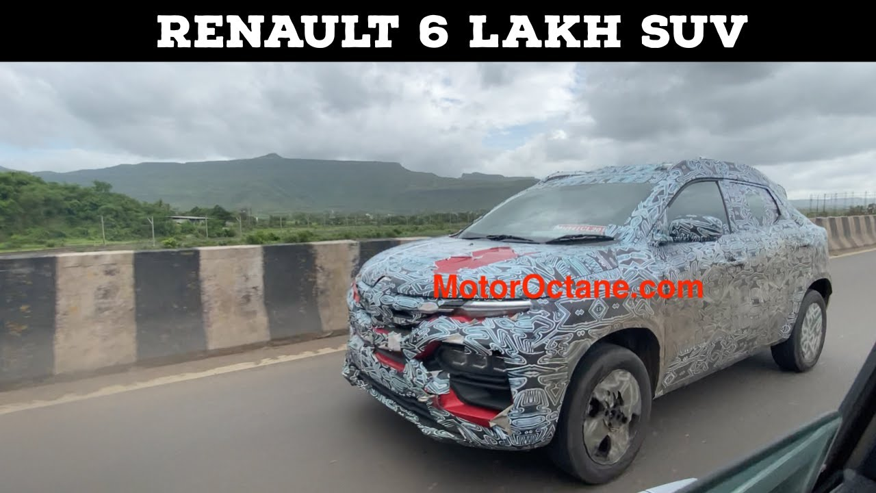 Motoroctane Youtube Video - Renault 6 lakhs SUV - Tata HBX Competition Coming in 2020