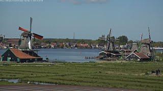 Webcam Live  Zaanse Schans ultra HD
