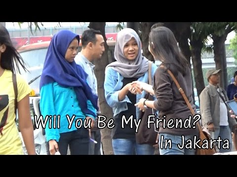 Wanna Be Friends? In Jakarta! (Social Experiment In Indonesia)