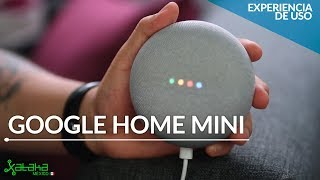 Así funciona Google Assistant con un Home Mini en español de México