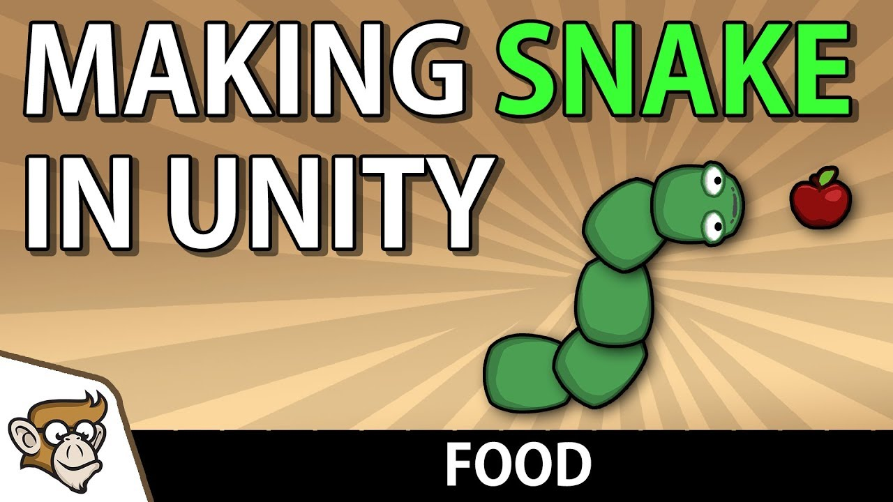 Making Snake in Unity: Food (Unity Tutorial for Beginners)