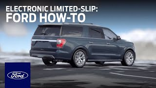 How to Improve Vehicle Performance with Electronic Limited-Slip Differential | Ford How-To | Ford