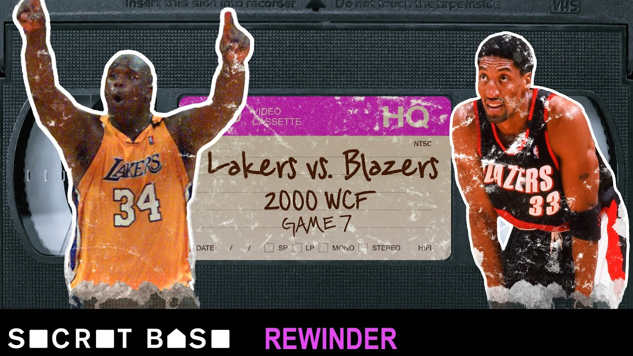 The wild comeback finish to the 2000 Lakers-Blazers playoff series deserves a deep rewind thumbnail