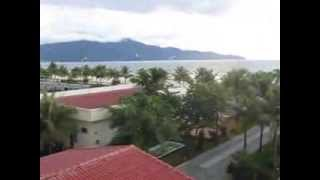 My Khe beach view from Lion Sea hotel, Da Nang-Viet Nam