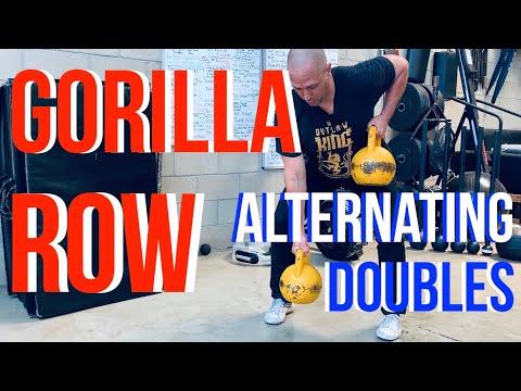 Kettlebell Duel Hold Row