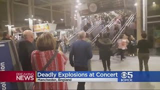Multiple Fatalities Reported After Explosion Outside Ariana Grande Concert In Manchester