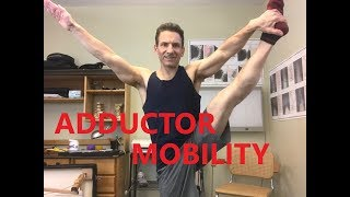 Adductor Stretches and Rolling