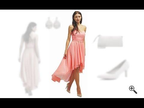 Kleider hinten lang vorne kurz + 3Party Outfit Ideen fürWera