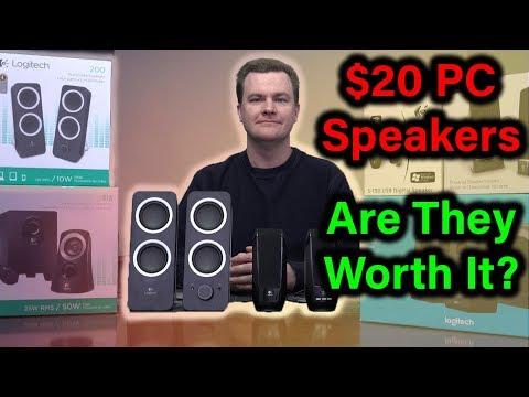 $20 PC Speakers – Logitech Z200 – Deal or No Deal?