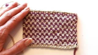 Knitting Help - Linen Stitch